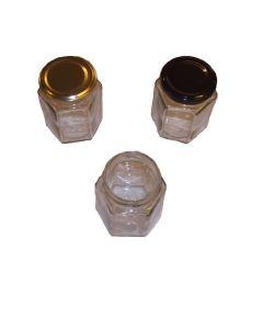 Glas 196 ml 6-kantet ca 225 g TO 58 i karton 20 stk