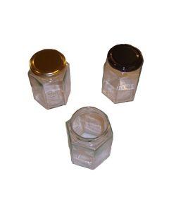 Glas 370 ml 6-kantet ca 450 g TO 66 i karton 12 stk