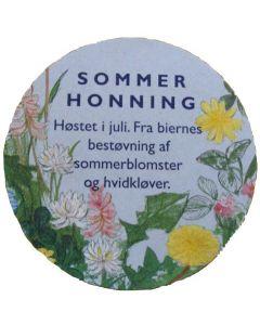 Tillægsetiket t/låg, Sommer, 200 stk.