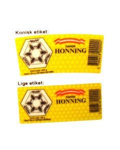 Honningetiket Dansk Honning 450 g